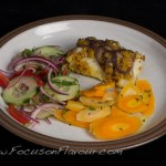 Baked Fish with a Mustard Masala