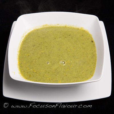 Pea, Lettuce and Sorrel Soup