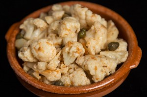 Cauliflower and Caper Salad