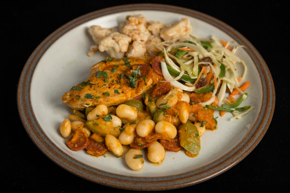 Chicken, Chorizo and Butter Bean