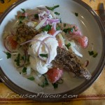 Peppered Mackerel with Horseradish Dressing