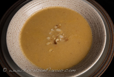 Moroccan Cauliflower Soup