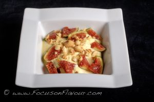 yogurt with golden paste, fresh figs and hazelnuts