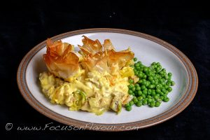 Golden Tangle Pie