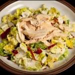 No Carb Chicken Caesar Salad
