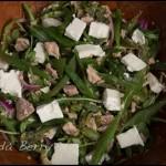 Green Bean and Tuna Salad with Feta