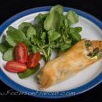 Asparagus, Comté and Mustard Pockets