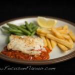 Cod with Tomato and Chorizo
