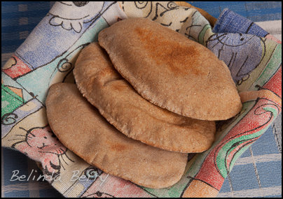 Wholewheat Pitta - 100kcals each
