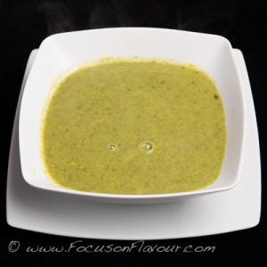 Pea, Lettuce and Sorrel Soup