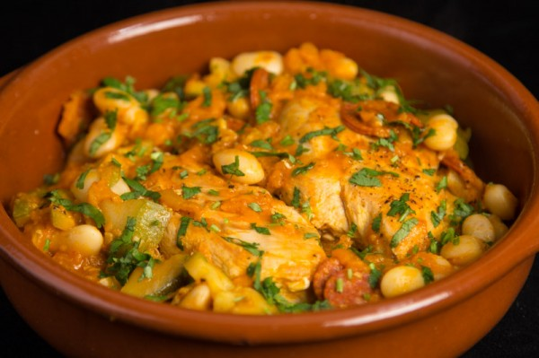 Chicken, Chorizo and Butter Bean