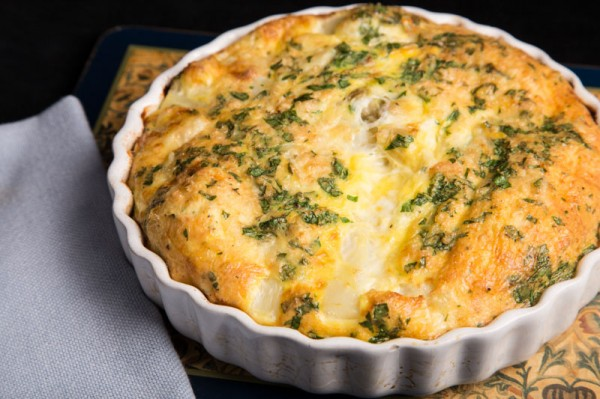 sparagus and Salmon Quiche