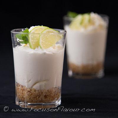 Mojito Cheesecakes